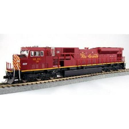 Kato USA Model Train Products EMD SD90/43MAC San Luis and Rio Grande Locomotive #116 Multi-Colored (Kato Sd40 2)