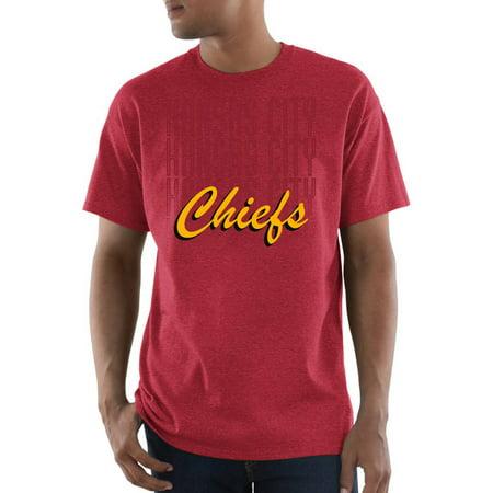 Nfl Kansas City Chiefs Great Value Big Mens Short Sleeve Tee
