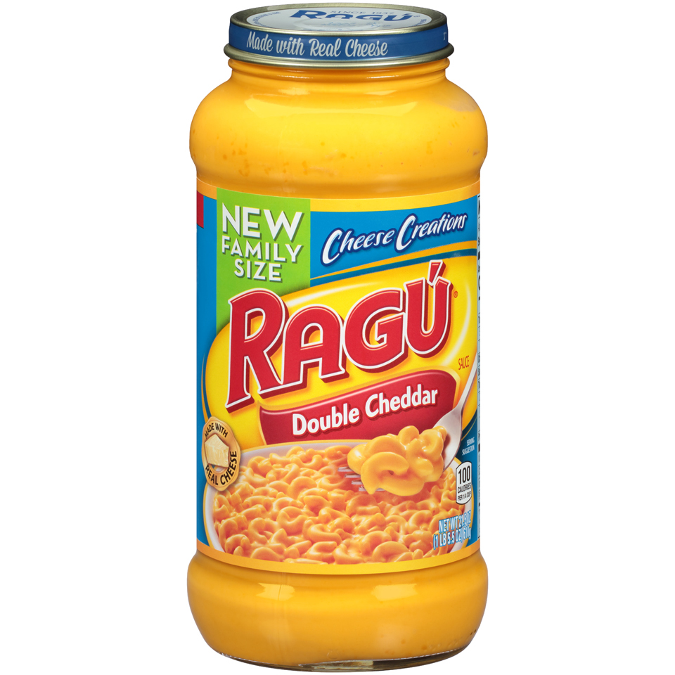 Ragú Cheese Creations Double Cheddar Sauce 21.5 oz.