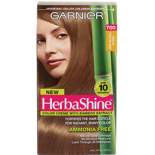 garnier herbashine haircolor 700 dark natural blonde