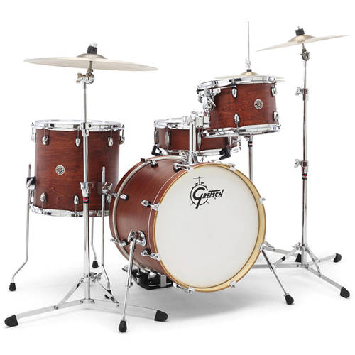Gretsch Catalina Club 4-Piece Shell Pack Satin Walnut Glaze by Gretsch