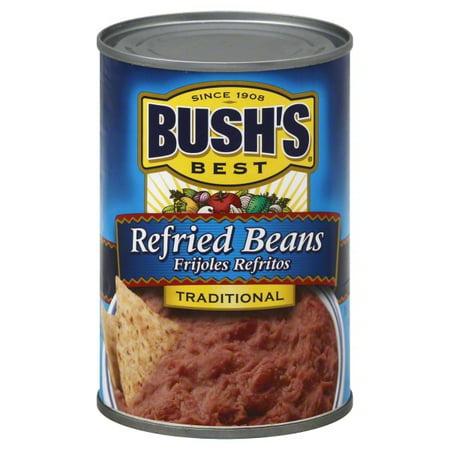 Bushs Best Cocina Latina Refried Beans Traditional  16 0 Oz
