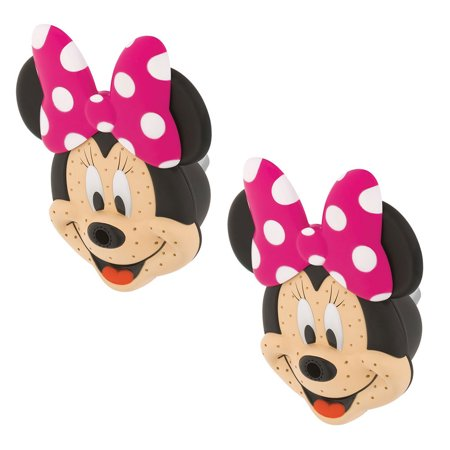 Oxygenics Disney Minnie Mouse 3 Setting Fixed Shower Head, Pink & Black (2 Pack) - Pink And Black Minnie Mouse Tutu