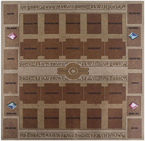 Yu-gi-oh Arc-v Card Rubber Play Mat Egypt mural style Typ...