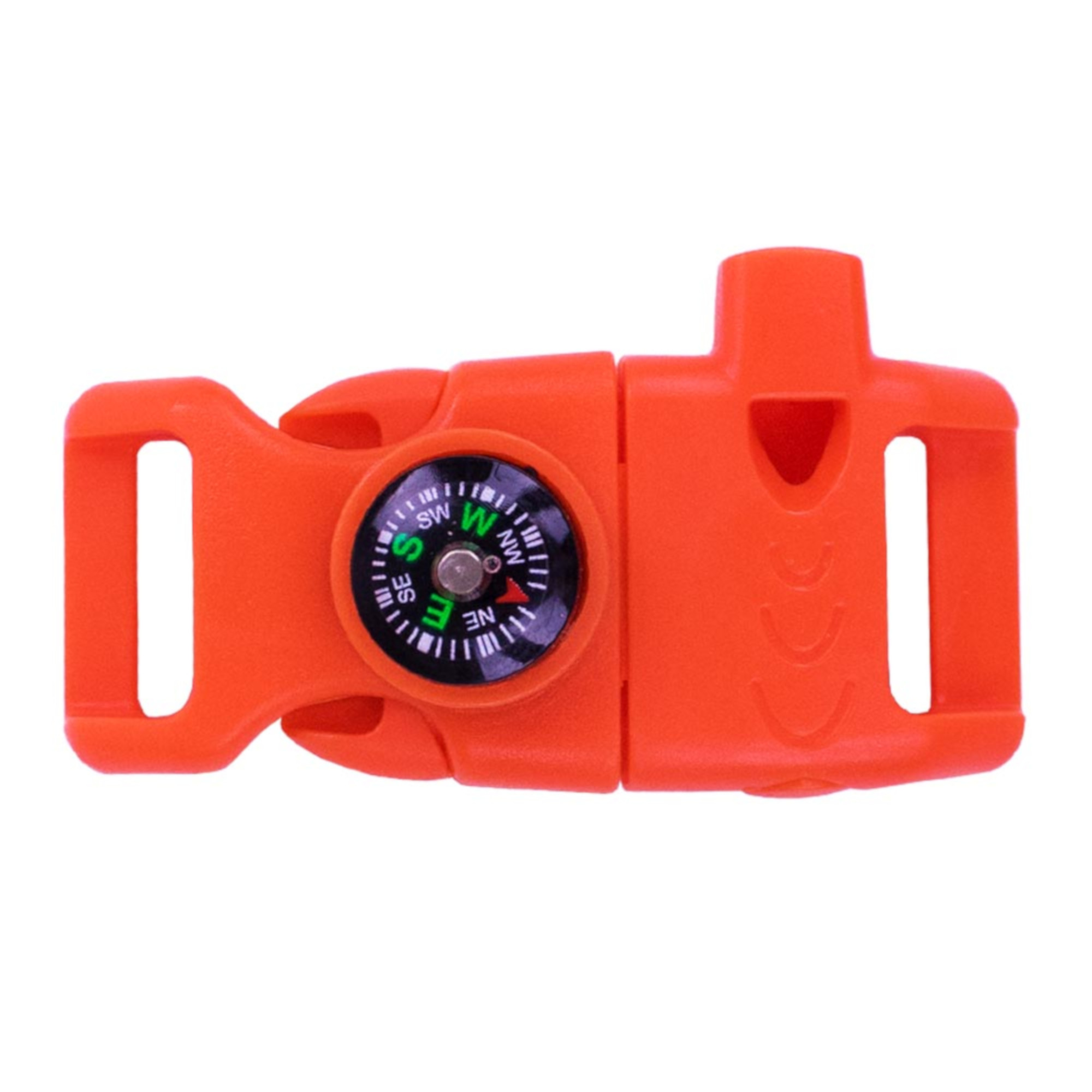 """Paracord Planet Plastic Side Release Emergency Survival Utility Buckles & Whistle Buckles – Choose from 1/2"""", 5/8"""" or 3/4"""" – Multiple Color Options – Multiple Pack Sizes Available"""