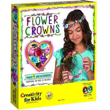 Creativity for Kids Flower Crowns