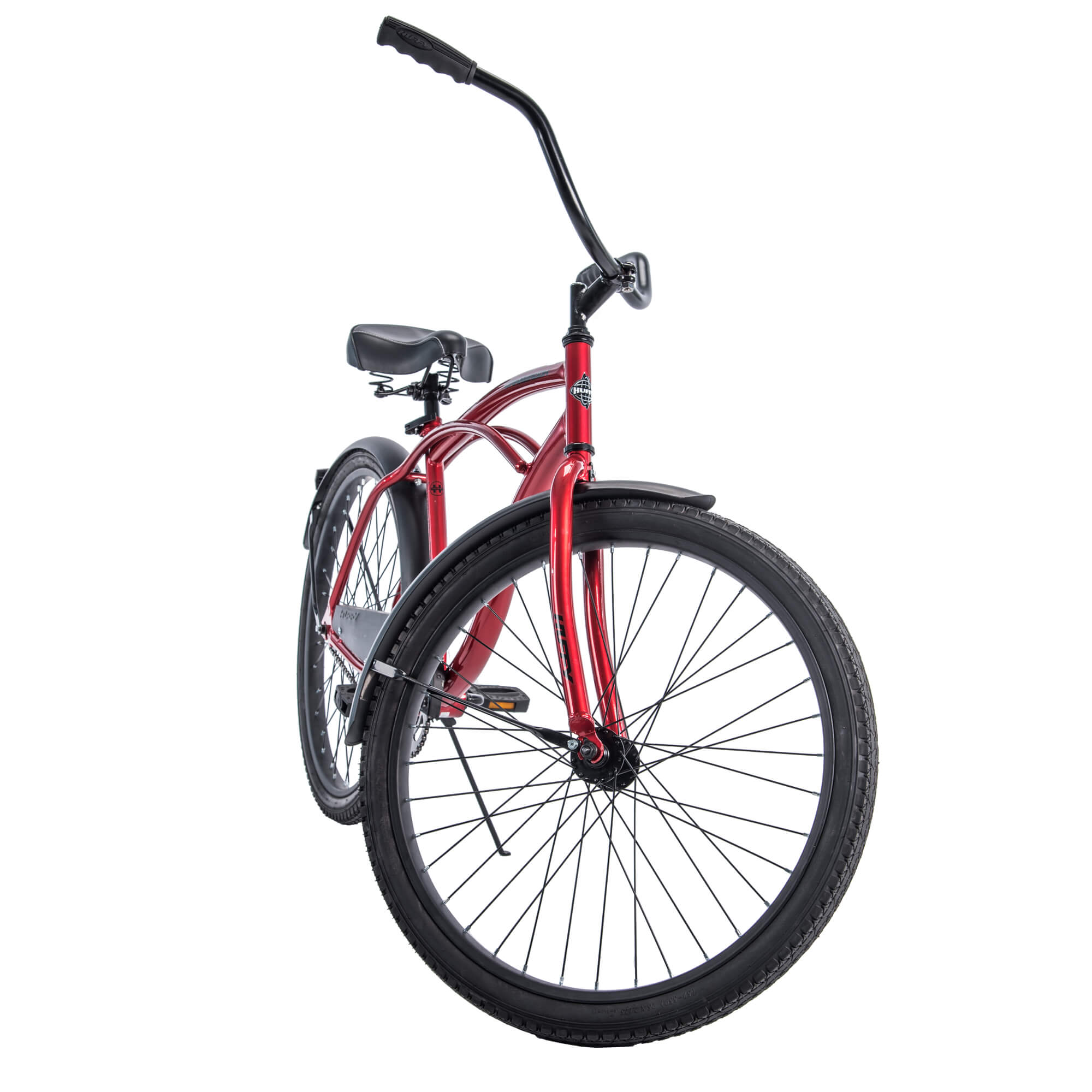 "Huffy 26/"" Cranbrook Men/'s Beach Cruiser Comfort Bike Silver"