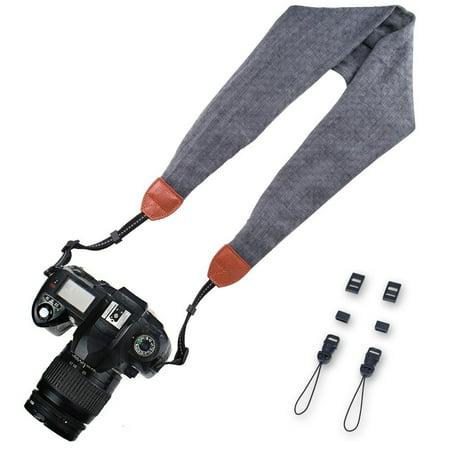 Elvam Scarf Camera Neck Shoulder Strap Belt for Nikon / Canon / Sony / Olympus / Samsung / Pentax / Mini 9 / Mini 8 / Mini 7s / Mini - 50s Belt
