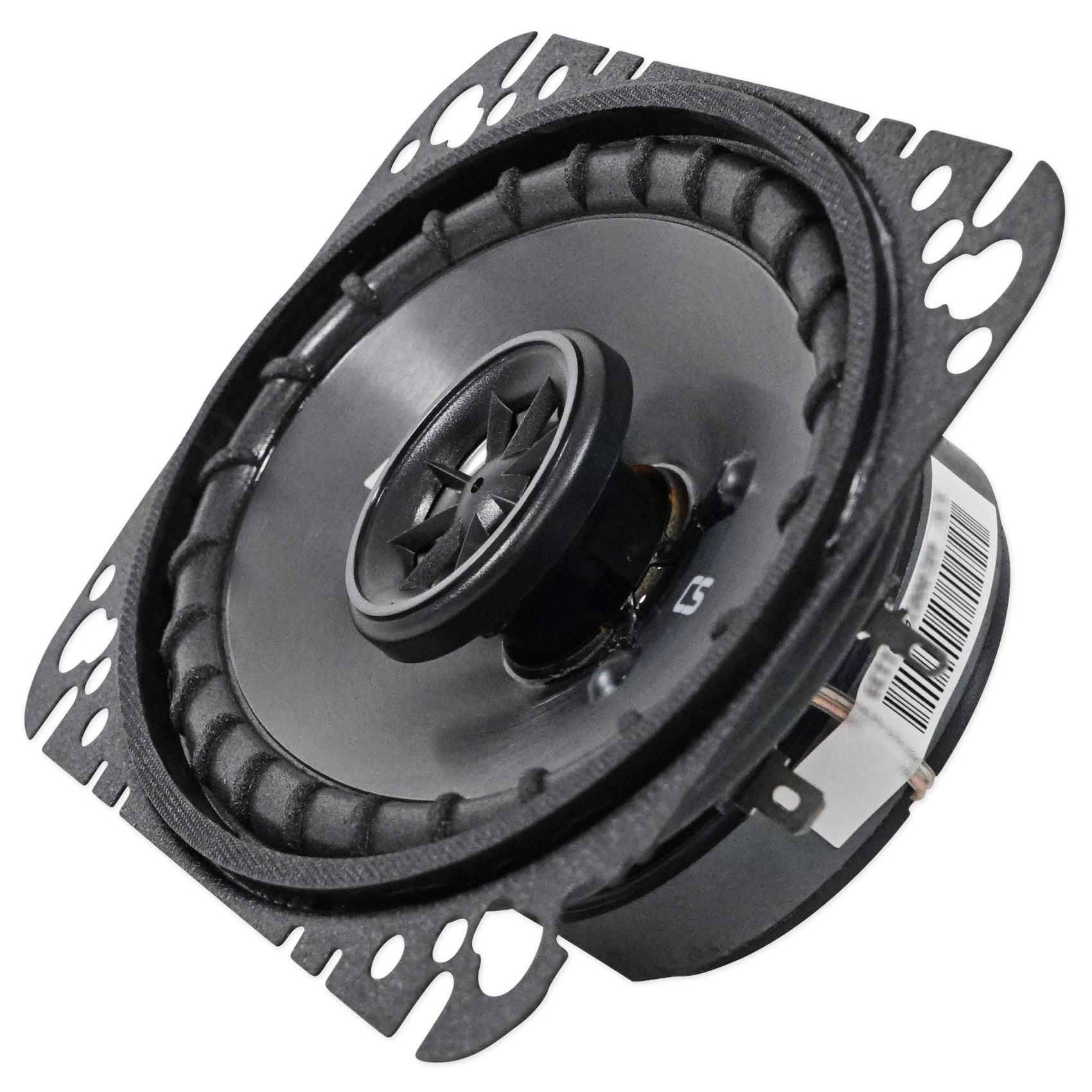 """KICKER 43CSC464 4/""""x6/"""" 4x6 600 Watt 4-Ohm 2-Way Car Audio Speakers CSC464 4"""