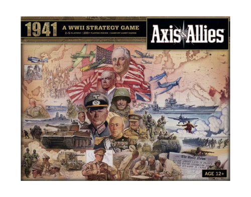 Axis and Allies 1941 Board Game by Flat River Group