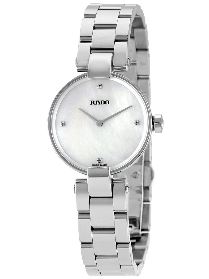 Rado Coupole White Mother of Pearl Dial Ladies Watch R22854933