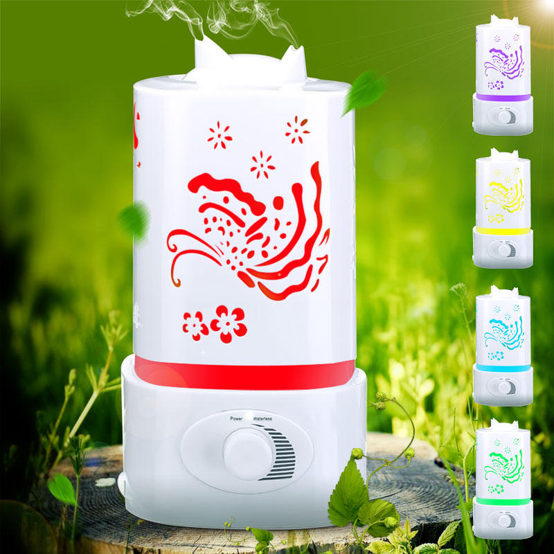 Honana Ultrasonic Aroma Humidifier Air Diffuser Purifier Lonizer Atomizer with Color Changing