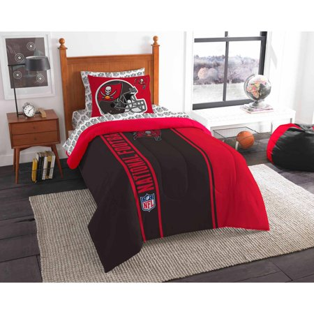 NFL Tampa Bay Buccaneers Soft and Cozy Bedding Comforter Set by