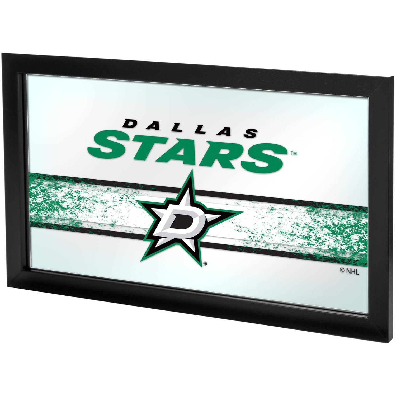 NHL Framed Logo Mirror, Dallas Stars