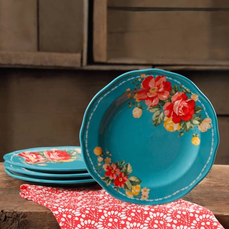 The Pioneer Woman Vintage Floral Teal 8.5