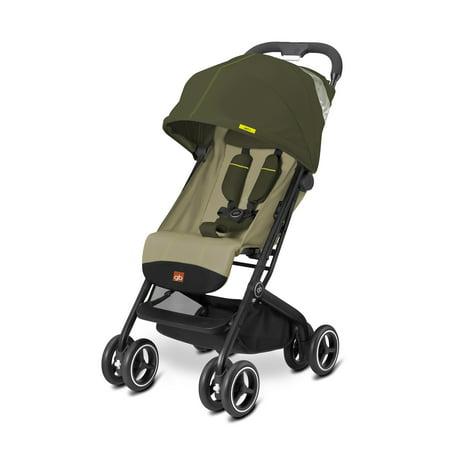 gb Qbit + Lightweight Stroller, Lizard Khaki