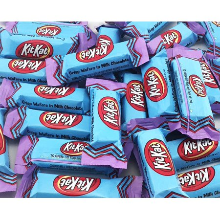 Kit Kat Miniatures Blue Wrap, Crisp Wafers in Milk Chocolate Candy, Bulk Pack (Pack of 2 Pounds)