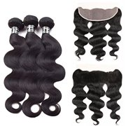 Best Hair Weave Blonde 3 Bundles - Beroyal Body Wave Malaysian 3 Bundles with Frontal Review