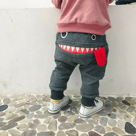 Kids Toddler Baby Boy Pants Bottom Joggy Leggings Trousers Cotton Clothes Fit For 0-4Years