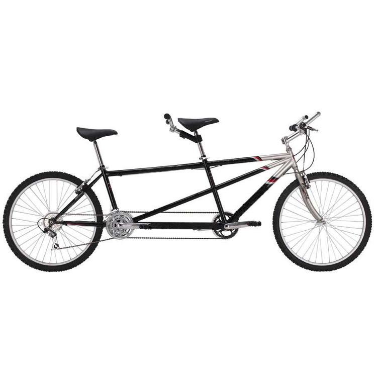 Micargi Sport 21 Speed Tandem Bicycle, Black - 26""