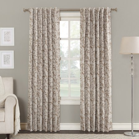 Sun Zero Karissa Blackout Lined Back-tab Window Panel