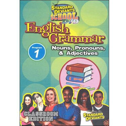 Standard Deviants School: English Grammar, Vol. 1 - Nouns, Pronouns, & Adjectives
