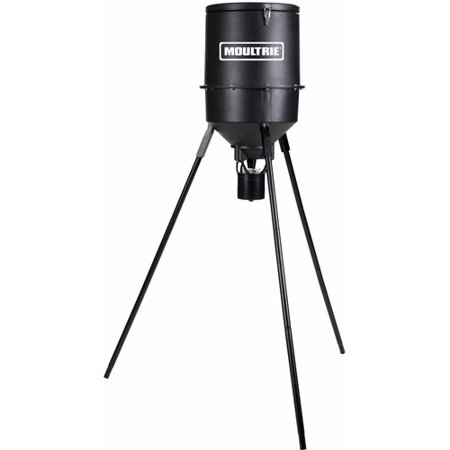 quick tripod adjustable product deer lock moultrie mfg gallon feeder feeders game