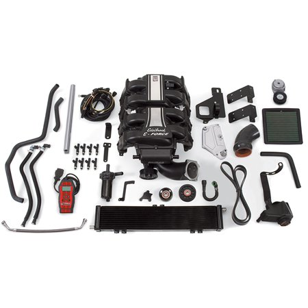 Edelbrock 1584 E-Force Stage-1 Street Systems Supercharger Fits 11-14 F-150 (Edelbrock E-force Supercharger)