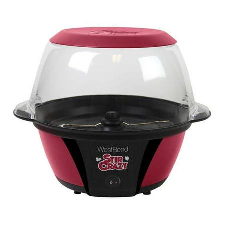 West Bend 1592646 Stir Crazy Popcorn Machine, 6