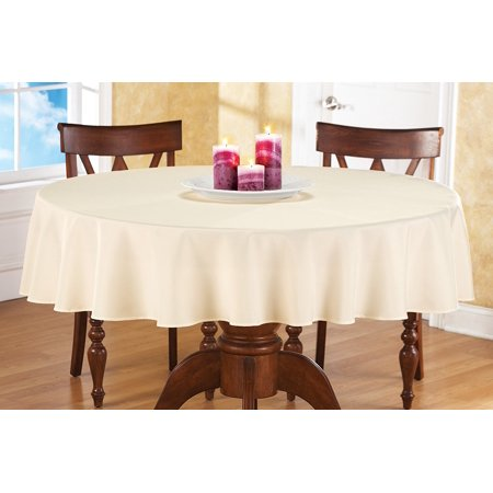 70 Inch Round Table Cloth.Collections Etc Basic 70 Inch Round Tablecloth