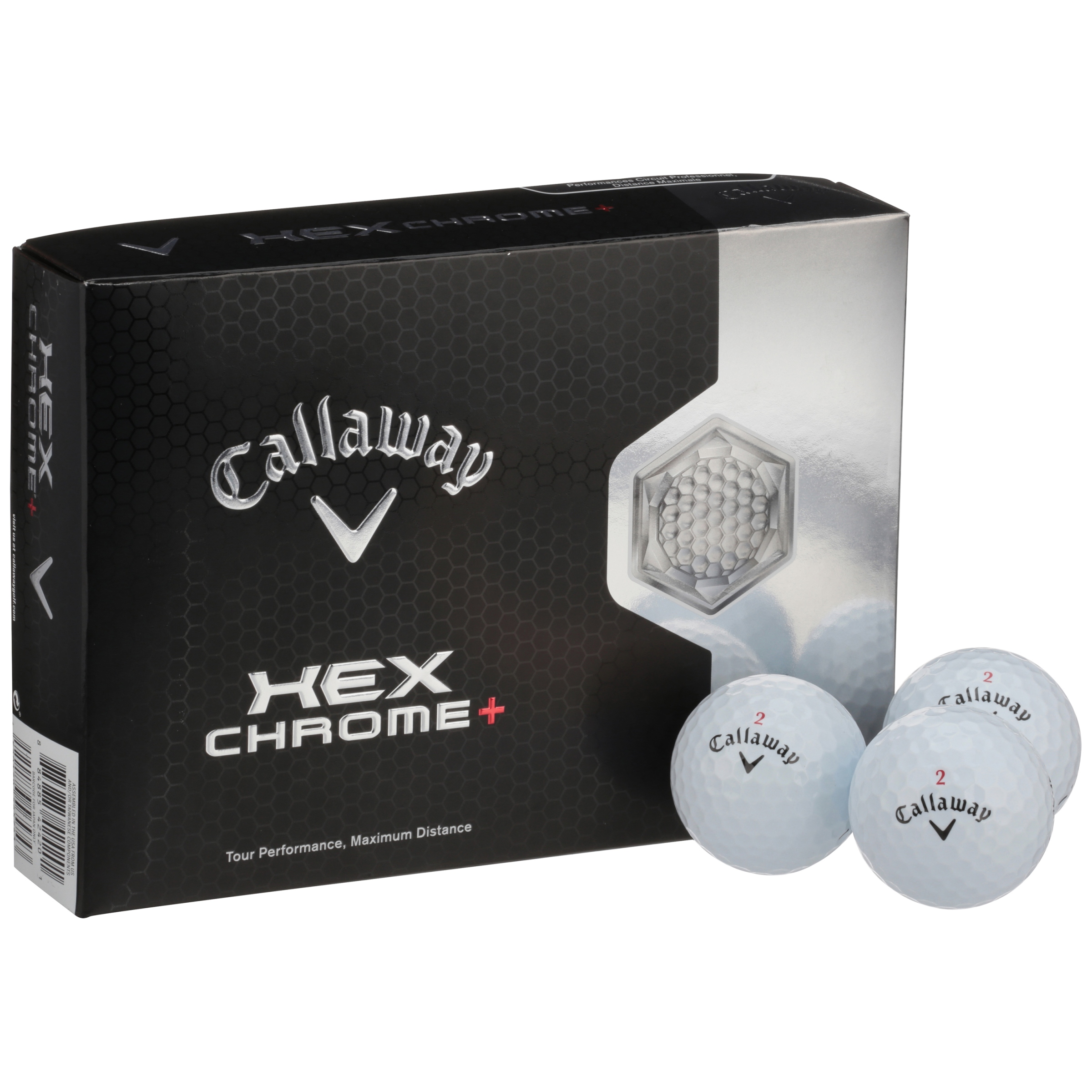 Callaway Hex Chrome Golf Balls 12 ct Box by Callaway Golf Company - Do Not Use
