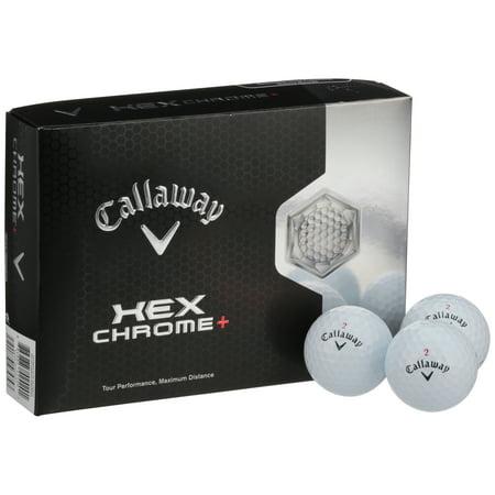 Callaway Hex Chrome® Golf Balls 12 ct Box