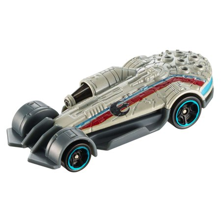 Hot Wheels Star Wars 40Th Anniversary Millennium Falcon , Carship - Millennium Falcon Rc