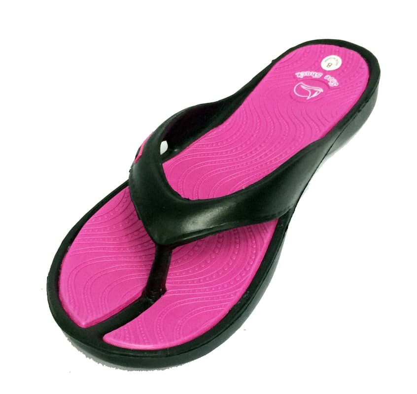 Shoe Shack Womens  Anti Slip Comfy Thong Sandals Flip Flops