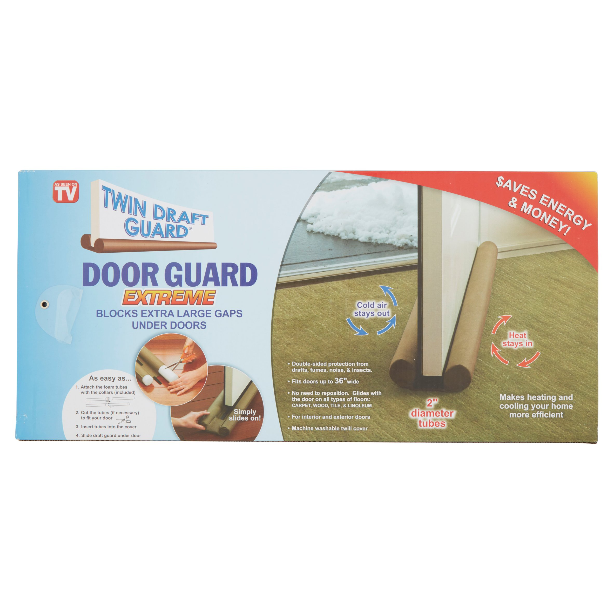 as seen on tv twin draft door guard walmart com