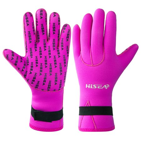 Lixada Men Women 3MM Neoprene Diving Gloves Snorkeling Scuba Surfing Gloves Spearfishing Kayaking Hands Protective