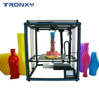 TRONXY X5SA-400 New Upgraded High Accuracy 3D Printer DIY Kit Support Auto Leveling Resume Printing Filament Run Out Detection 400*400*400mm with Heatbed Touchscreen 8GB TF Card & PLA Sample