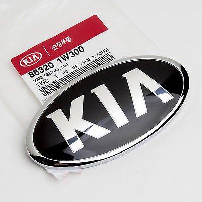 Genuine OEM KIA Tailgate Trunk Emblem 86320 1W300 (130mm)