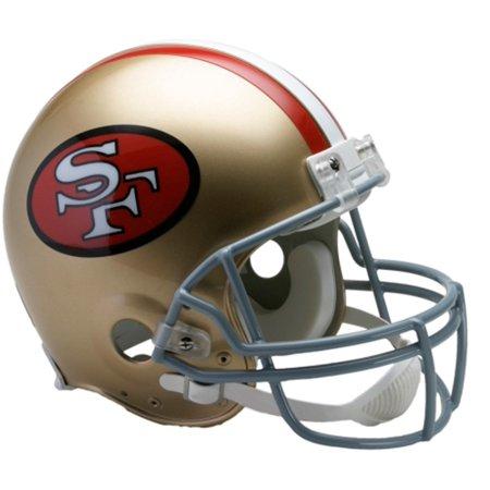 Riddell San Francisco 49ers Throwback 1964-1995 VSR4 Full-Size Authentic Football Helmet 1960 Authentic Throwback Helmet
