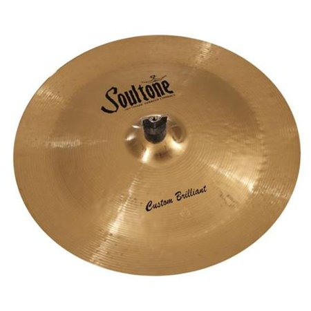 Soultone Cymbals CBR-CHN14 14 in. Brilliant China China Cymbal Brilliant Finish