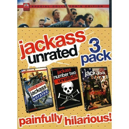 Jackass The Movie (Special Collector's Edition) / Jackass 2.5 / Jackass Number Two (Unrated) (3-Pack) (With INSTAWATCH) (Widescreen)