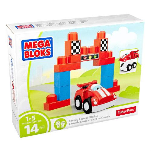 Mega Bloks First Builders Speedy Racecar Building Set Mega Bloks First Builders Speedy Racecar Building Set