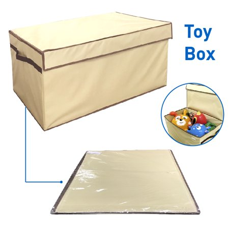 Toy Box Folding Trunk Organizer Chest Collapsible Storage Bin Great For Nursery