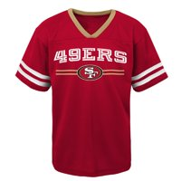 ebf523ff988 Product Image Youth Scarlet San Francisco 49ers Mesh V-Neck T-Shirt