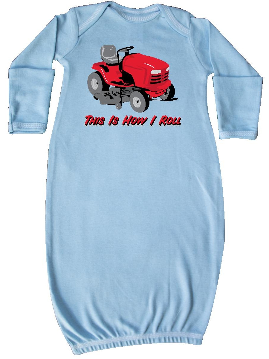 This Is How I Roll Mower Newborn Layette