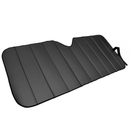 Motor Trend Front Windshield Sunshade for Car - Accordion Folding Auto Shade, Max Sun Block , 58x24 inch (Best Car Sun Shade)