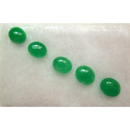 Chinese Green Jade Beads by Feng Shui Import LLC