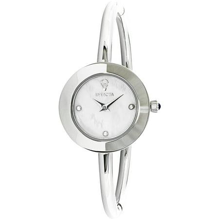 Invicta Womens Gabrielle Union 23258 Silver Stainless Steel Quartz Fashion Watch