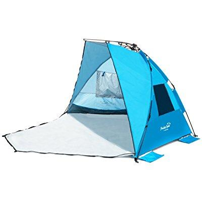 new arrival! extra large beach tent with privacy door. quality beach shade,