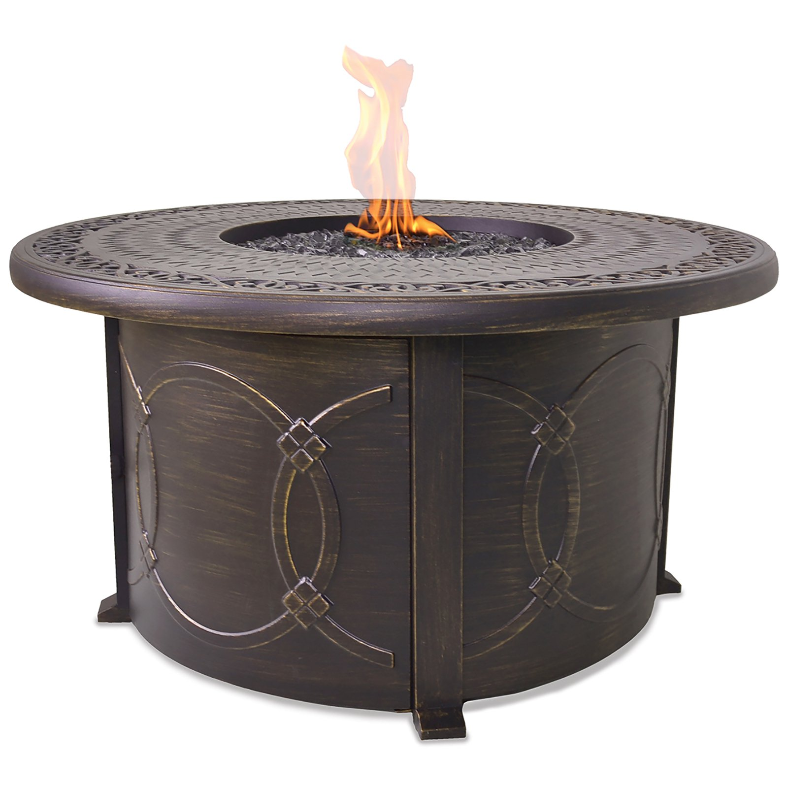 Endless Summer Uniflame Propane Gas Outdoor Firebowl With...